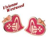 ヴィヴィアンウエストウッド Vivienne Westwood ピアス AMPAHI フューシャピンク レディース BE638/10