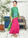 【SALE】チャイハネ 公式 [テガロトップス] エスニック アジアン ファッション トップス/レディース IAC-0435