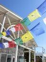 タルチョLチャイハネ 公式 エスニックNQTP6806チベット伝統の祈祷旗であるタルチョ。五色の順番は青 白 赤 緑 黄の順に決まっており それぞれが天 風 火 水 地すなわち五大を表現しています。お部屋やキャンプ グランピングで飾れば 一気に雰囲気UP♪※こ