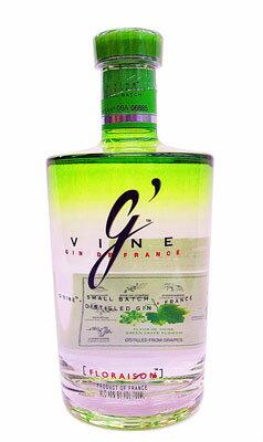 【フローラルなブドウのジン!】ジーヴァイン ジン...の商品画像