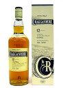 クラガンモア 12年 シングルモルトウイスキー 40度 / 700ml / 正規輸入品
