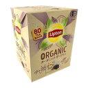 ショッピングコストコ リプトン オーガニック ダージリン アルミティーバッグ 80個 Lipton Organic Darjeeling
