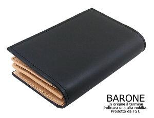 メンズカードケース ブラック プレゼント ブランド バローネ