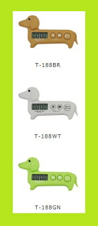 -In send-* cod would during normal plus shipping costs and re designated non-DRETEC ( ドリテック ) Dachshund timer 1T-188 kitchen/kitchen timer/timer / gadgets / countdown / featured / presents / convenience goods