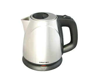 "New products DRETEC ( ドリテック ) stainless steel electric kettle ""Assamese"" po-110"