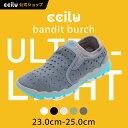 ccilu bandit-burch 2016モデル スリッポン レディス 本革×メッシュ×チルセル 23.0cm~25.0cm 全5色