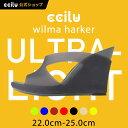ccilu wilma-harker ウェッジサンダル レディース22.0~25.0cm 7色