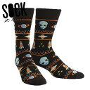 楽天ccilu(チル)公式ショップ【お得クーポン配布中】【メール便対応】Sock It To Me[ソック イット トゥ ミー] Alien Swarter Sighting ソックス メンズ 靴下 総柄