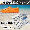 スリッポン メンズ サンダル ヒーロー・ヌード hero-nude メンズ【送料無料】 ccilu(チル)公式【05P29Jul16】