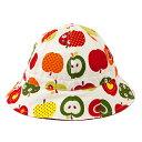 ベビー帽子 ハット おしゃれリンゴのひみつ(アイボリー) 日本製 (あす楽/赤ちゃん/ベビー/新生児/出産祝い/ギフト/女の子)