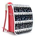 ランドセルカバー ピアノの上で踊る黒猫ワルツ(ブラック) (...