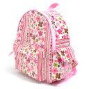 子どもリュック スカンジナビアのフラワーパーク(ピンク) 日本製 【バックパック キッズリュックサッ