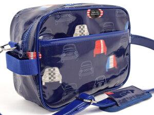 バッグ・キッズショルダーバッグ ドライブ フレンチ ネイビー スクール ショルダーバッグ