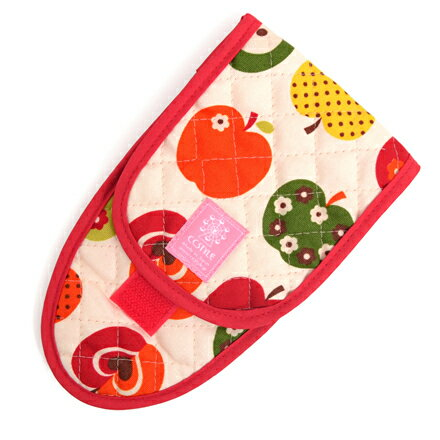 はさみケース おしゃれリンゴのひみつ(アイボリー) (はさみ入れ 子供用 はさみケース 幼稚園 ハサミケース 子供 女の子)