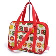 書道バッグ 習字バッグ おしゃれリンゴのひみつ(アイボリー) 日本製 【おけいこバッグ】(あす楽/子供/子ども/小学生/女の子)【到着後レビューを書いて缶バッジプレゼント】