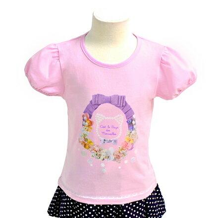 キッズTシャツ(半袖)Kitten'sDecorativedesignプリントTシャツクルーネックT