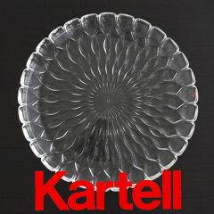 KartellカルテルJELLYPLATEプレート/クリスタル(クリア)JELP-1226-B4ジェリーテーブルセンタープレート