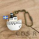 リサラーソン キーホルダー ボート Lisa Larson[LL1308]