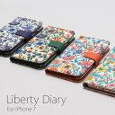 iphone7 ケース ZENUS Liberty Diary リバティー iphone7ケース iphone7 手帳型 iphone7ケース 手帳 iphone7 手帳型ケース ダイアリー iphone7 カバー 手帳 おしゃれ スマホケース アイフォン アイホン