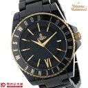 [海外輸入品] ヴィヴィアン 時計 ヴィヴィアンウエストウッド 腕時計 スローン セラミック VV048GDBK メンズ&レディース 腕時計