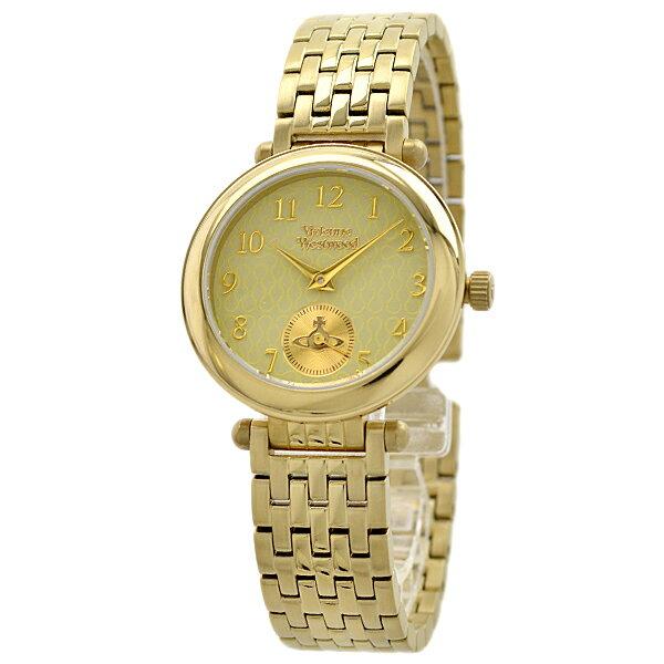 VivienneWestwood [海外輸入品] ヴィヴィアンウエストウッド  VV051CPGD レディース 腕時計 時計 [3年長期保証付][送料無料][ギフト用ラッピング袋付][P_10]