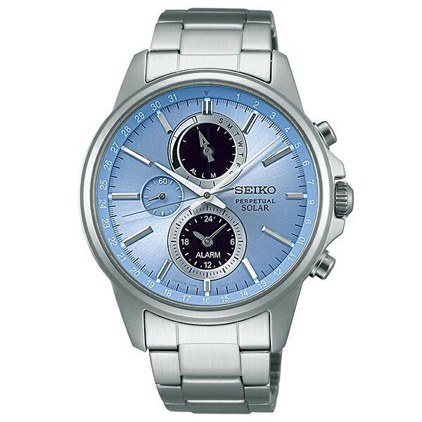 SPIRIT [国内正規品] セイコー スピリット クロノグラフ ソーラー 100m防水 SBPJ001 メンズ 腕時計 時計 [10年長期保証付][送料無料][腕時計ケア用品 マルチクロス付][ギフト用ラッピング袋付]