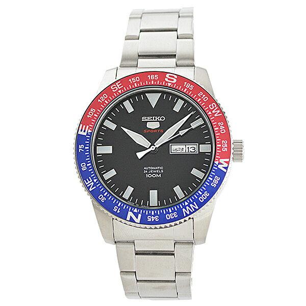 SEIKO5 [海外輸入品] セイコー5 逆輸入モデル 100m防水 機械式(自動巻き) SRP661J1 メンズ 腕時計 時計 [3年長期保証付][送料無料][ギフト用ラッピング袋付][P_10]