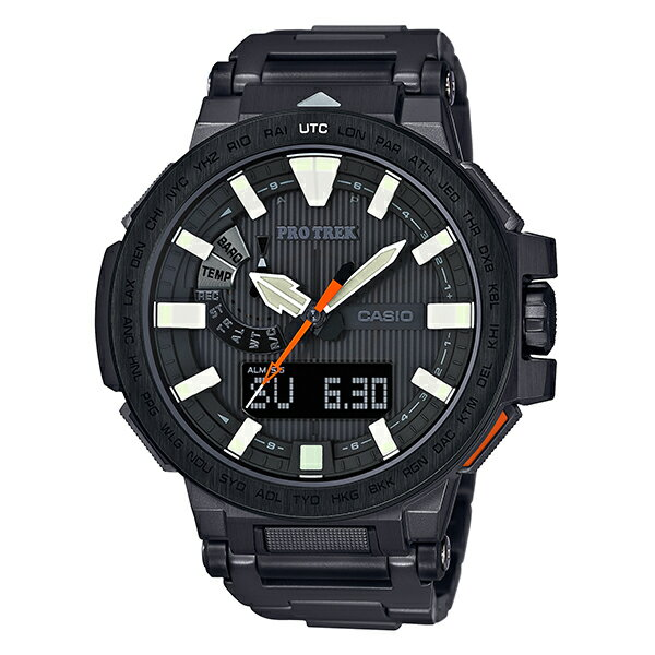 PROTRECK [国内正規品] カシオ プロトレック マナスル ソーラー電波 PRX8000YT1JF メンズ 腕時計 時計【ポイント6倍】(予約受付中) [10年長期保証付][ギフト用ラッピング袋付]