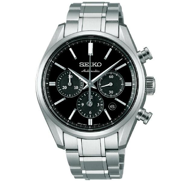 PRESAGE セイコー プレザージュ クロノグラフ 100m防水 機械式(自動巻き/手巻き) SARK007 [正規品] メンズ 腕時計 時計 [10年保証付][腕時計ケア用品 マルチクロス付][ギフト用ラッピング袋付]