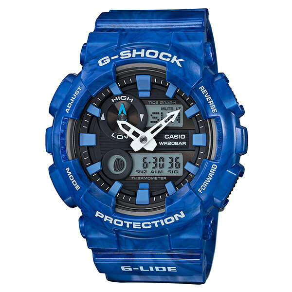 G-SHOCK [国内正規品] カシオ Gショック G-LIDE GAX-100MA-2AJF メンズ 腕時計 時計 [10年長期保証付][送料無料][ギフト用ラッピング袋付]