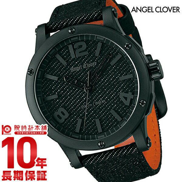 AngelClover [国内正規品] エンジェルクローバー 【300本限定】腕時計 エクスベンチャー(SENSEコラボレーション) デニム EV46BBK-BD メンズ 腕時計 時計【ポイント11倍】 [10年長期保証付][送料無料][腕時計ケア用品 マルチクロス付][ギフト用ラッピング袋付][P_10]