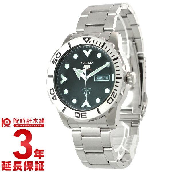 SEIKO5 [海外輸入品] セイコー5 逆輸入モデル 100m防水 機械式(手巻き) SRPA03K1 メンズ 腕時計 時計 [3年長期保証付][送料無料][ギフト用ラッピング袋付][P_10]