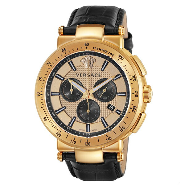 VERSACE [海外輸入品] ヴェルサーチ MYSTIQUESPORT VFG150016 メンズ 腕時計 時計【新作】 [送料無料][ギフト用ラッピング袋付][P_10]【カシオ レディース 腕時計 おすすめ】