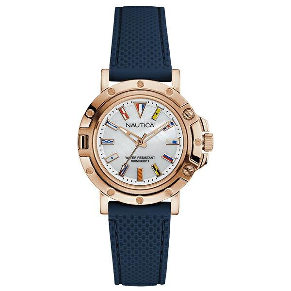 NAUTICA [国内正規品] ノーティカ  NAD14007L レディース 腕時計 時計【2000円割引クーポン付】【ポイント10倍】【新作】 [10年長期保証付][送料無料][ギフト用ラッピング袋付][P_10]