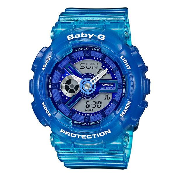 BABY-G カシオ ベビーG  BA-110JM-2AJF [正規品] レディース 腕時計 時計(予約受付中) [2017年新作][10年保証付][ギフト用ラッピング袋付]