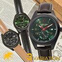 【最大1万円OFFクーポン!15日0時から】【8000円割引クーポン】ハンティングワールド 時計 腕時計 HUNTINGWORLD メンズ 革 レザー HWM002BKBR HWM002GRBK HWM002GRDB
