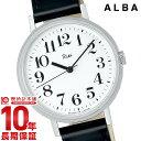 【店内最大ポイント55.5倍!5日限定!】 セイコー アルバ リキ 腕時計 レディース メンズ SEIKO ALBA Riki AKPK009 革ベルト 黒