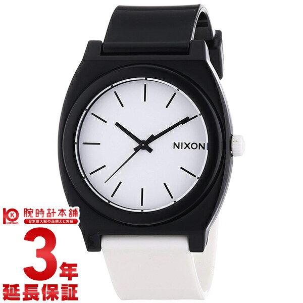 NIXON [海外輸入品] ニクソン 腕時計 タイムテラー ホワイト×ブラック A119-005 メンズ&レディース 腕時計 時計