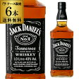 ジャック ダニエル ブラック 40度 1,000ml 正規品【6本販売】【送料無料】[ウイスキー][バーボン][テネシー][1L][1000]