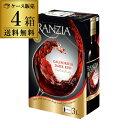 《箱ワイン》フランジア ダークレッド 3L×4箱【ケース(4本入)】【送料無料】[ボックスワイン][BOX][ワインタップ][BIB][バッグインボックス][長S]