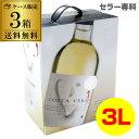 《箱ワイン》白ワインインドミタソーヴィニヨンブランコスタヴェラ3L×3箱ケース(3本入)送料無料ボックスワインBOXRSL