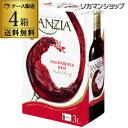 《箱ワイン》フランジア レッド 3L×4箱【ケース(4本入)】【送料無料】[ボックスワイ