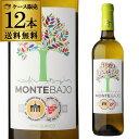 【10%OFF】送料無料 モンテ バホ アイレン 750ml 12本入ケース スペイン 白ワイン 長S