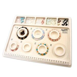 ブレスレット デザイナー オペロンゴム プレゼント ストーン ビーズデザインボード