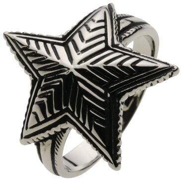 ホワイトメタルリング 指輪 メンズ ロック ネイティブ メンズリング スタッズ 鋲 アメリカン 男性用アクセ ソロ インディアンジュエリー ナバホ族