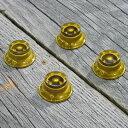 【ネコポス発送可!!】Montreux 《モントルー》 Top Hat knob set Gold (4) 「商品番号:8704」 ノブ