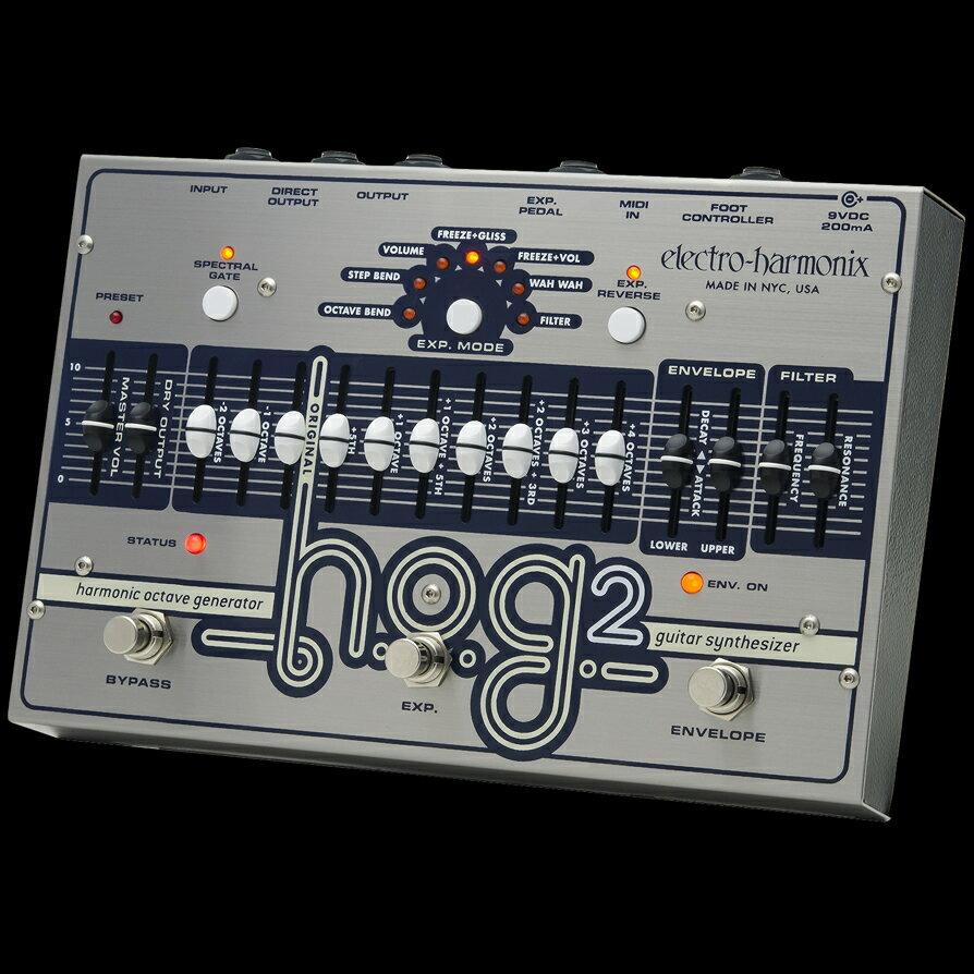Electro Harmonix 《エレクトロ・ハーモニックス》 HOG2 エフェクター(オクターバー) 【送料無料】