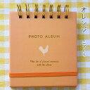 ましかくプリント用アルバム ナカバヤシ スクエアアルバム ましかく写真を30枚収納できる かわいいポケットアルバム