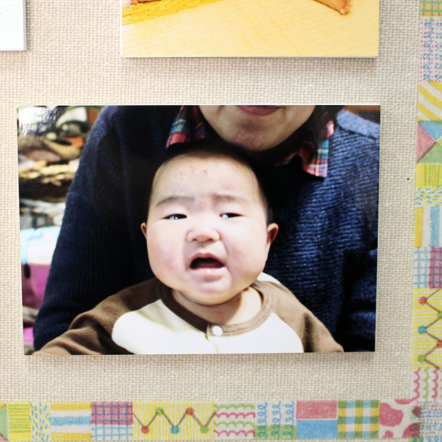 壁アルバム ウォールデコ Lサイズ フォトパネル仕上げ壁に直接貼れる お客様の写真でつくる 写真プリント 展示用