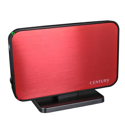 【中古】【30日保証】《送料無料》1分BOX USB3.0 SATA6G ディープレッド CENTURY/センチュリー/ハードディスクケース[COM35U3R6G]